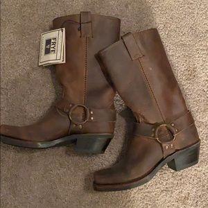 Frye Harness 12 inch boots NWT